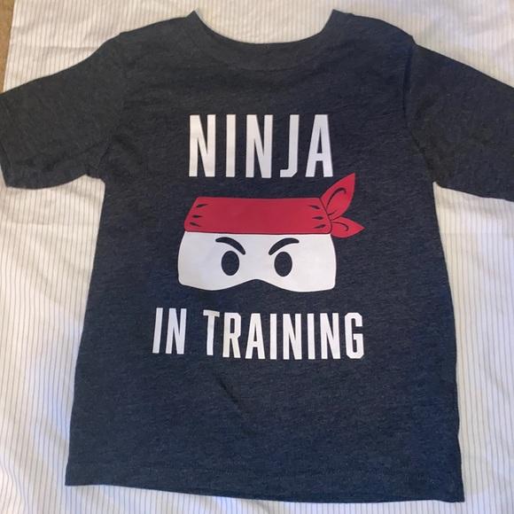 Ninja in Training Boys Tee